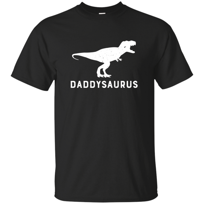 Daddysaurus Rex Funny Dinosaur Shirt First Time Dad Gift Tee