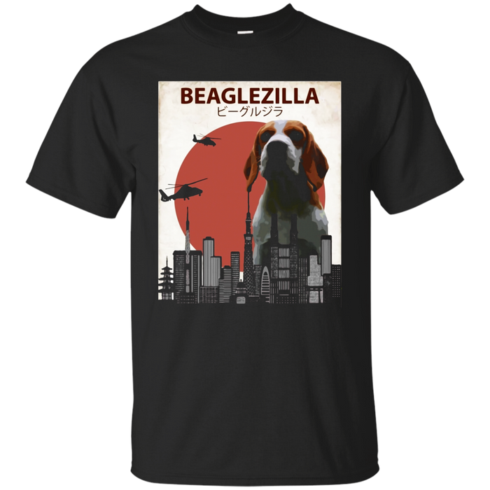 Beaglezilla | Funny Beagle T-Shirt for Dog Lovers