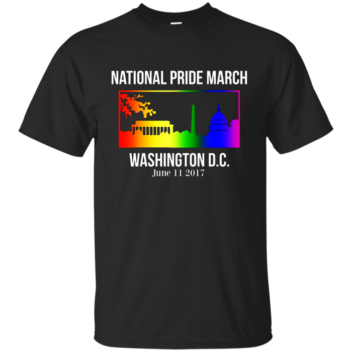 National Pride March Shirt Washington DC June 11 2017