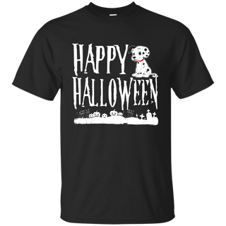 Happy Halloween Dalmatian T shirt