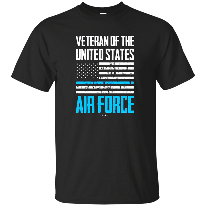 Air Force American Flag Shirt | Blue Line