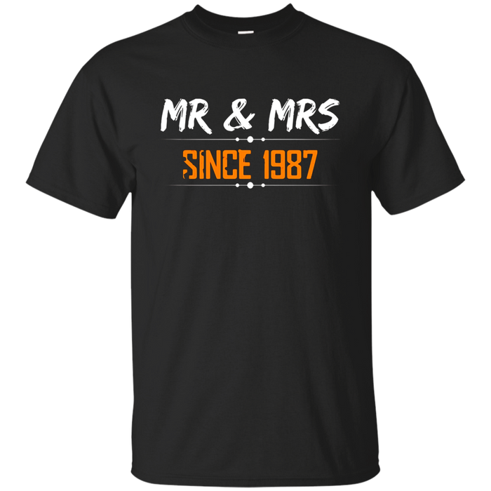 Beautiful T-Shirt for Wife/Husband. 30th Wedding Anniversary