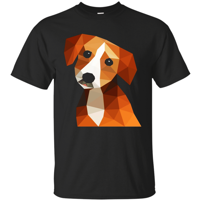 BEAGLE PUPPY DOG Shirt Colorful Polygon GIANT BEAGLE T-Shirt