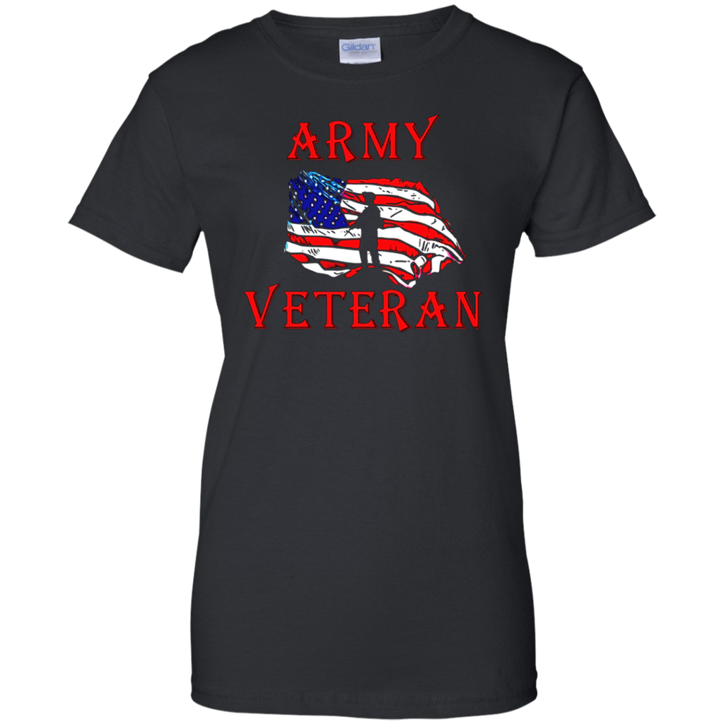 Army Veteran t-shirts for veterans Independence Day T-shirt