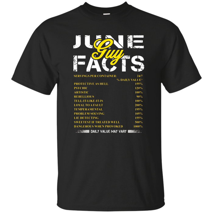 June Guy Facts Funny Shirt