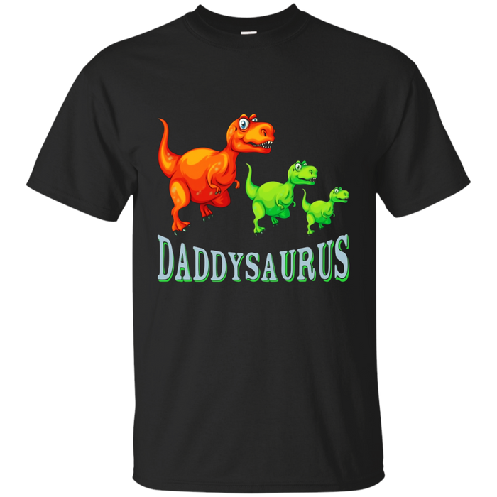 Daddysaurus T shirt, T Rex Tshirt Fathers Day Gift