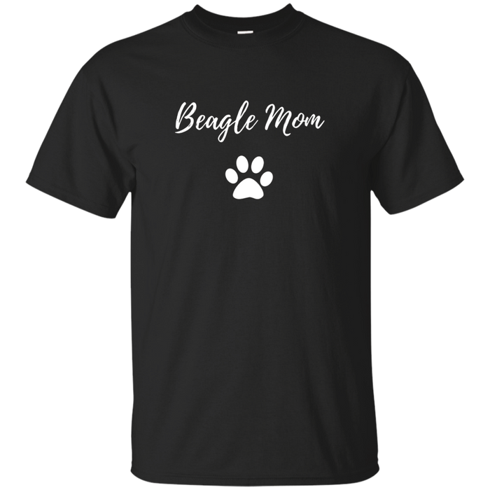 Beagle Mom T-Shirt Funny Dog Lovers Gift Shirt