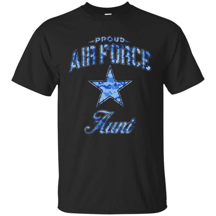 Air Force Aunt Shirts (Camo)