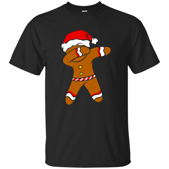 Dabbing Gingerbread Funny Xmas Holiday Christmas Pun T-Shirt