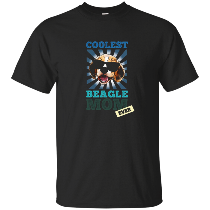 Coolest Beagle Mom Dog Breeds Shirt