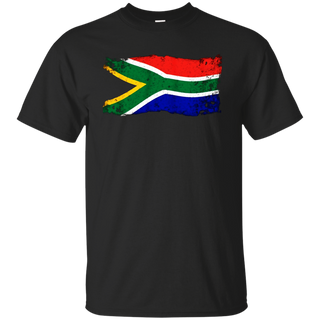South Africa African Vintage National Flag Retro TShirt