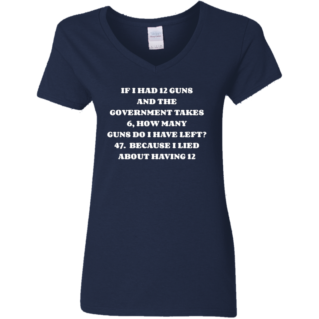 Funny Government Gun Confiscation T-Shirt - Gun Nut Redneck