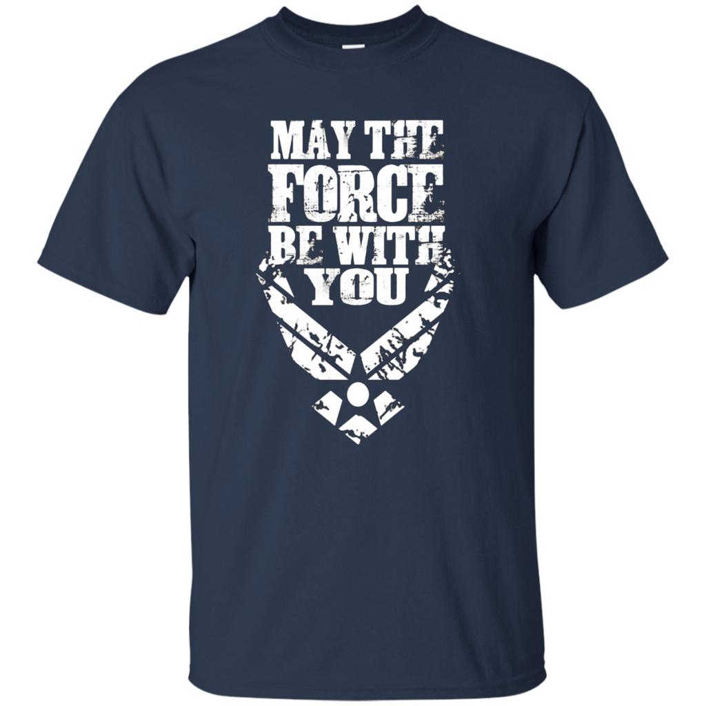U.S. Air Force tshirt Funny Force Logo USAF T-shirt