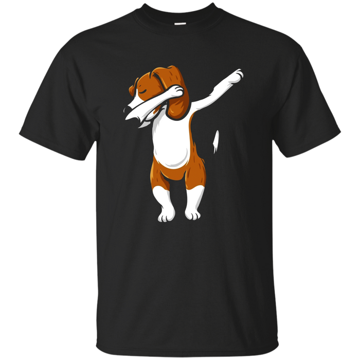 The Dabbing Beagle Funny Beagle Shirt