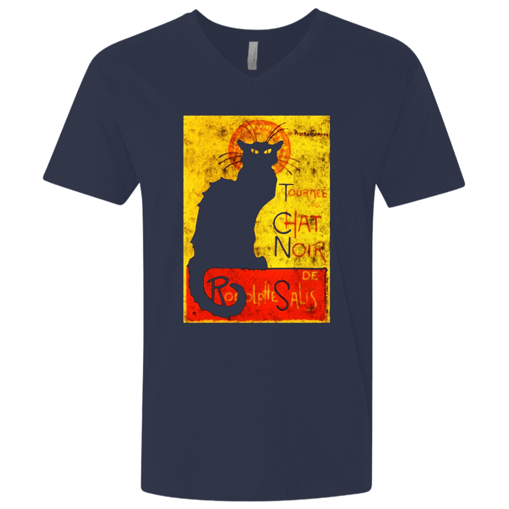 Vintage Tournee du Chat Noir Black Cat Halloween T-Shirt
