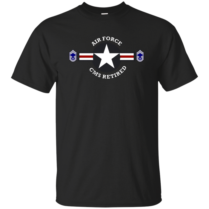AIR FORCE CHIEF MASTER SERGEANT RETIRED T-SHIRT