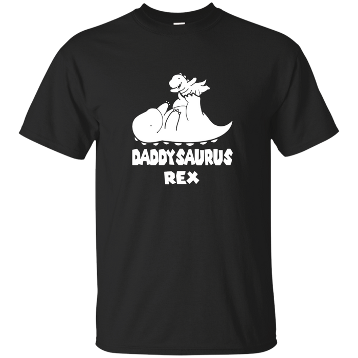 Daddysaurus Rex Father and Son or Daughter T-Shirt
