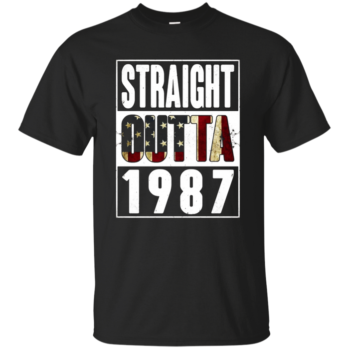 Straight Outta Vintage USA 1987 30th Birthday Gifts 30 years