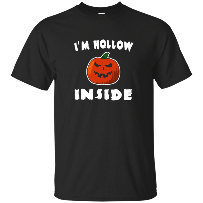 I'm Hollow Inside Funny Halloween Pumpkin Pun T-Shirt