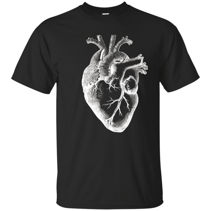 Anatomical Heart  medical doctor Heart T-Shirt anatomy
