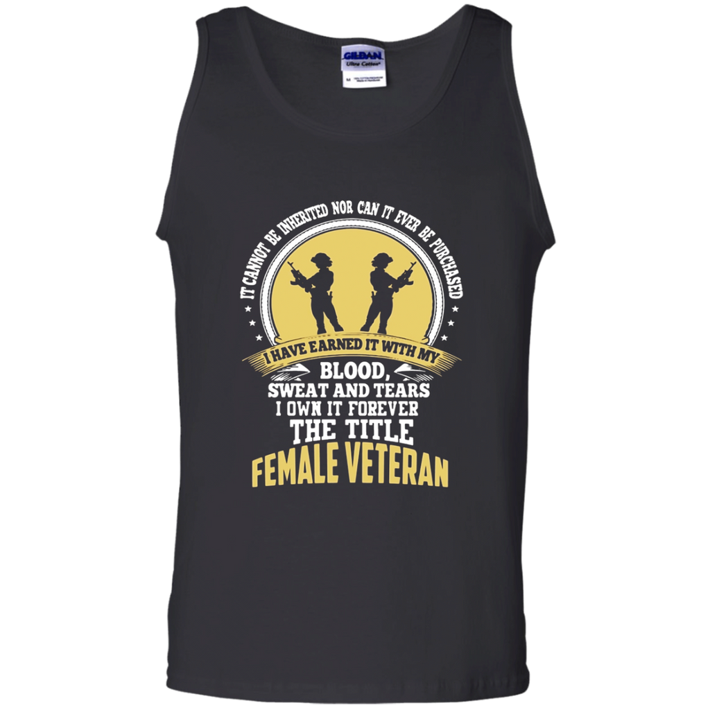 Female Veteran t shirt