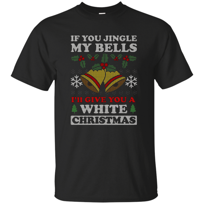Mens Jingle My Bells Funny Adult Christmas T-Shirt