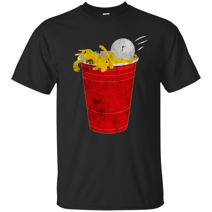 Funny Beer Pong Drinking Champ T-Shirt