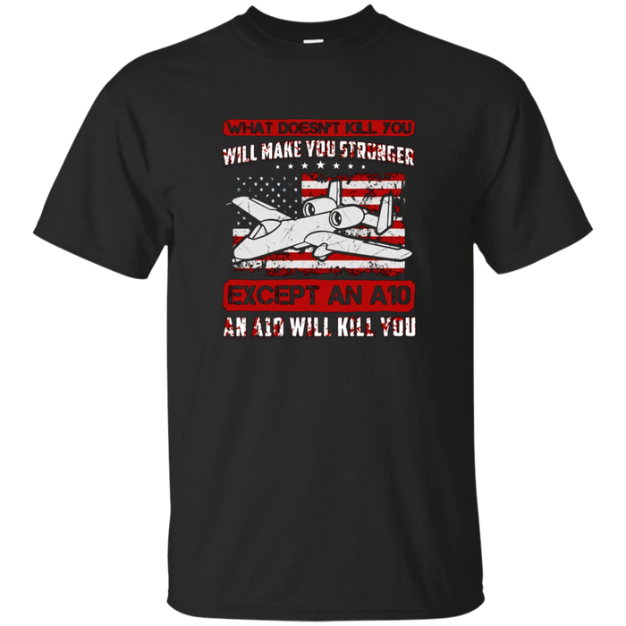 Air Force A-10 Warthog Funny Military T Shirt