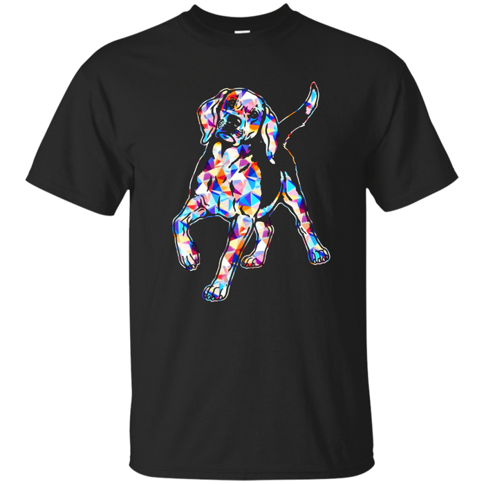 Beagle Shirts - Beagle Geometric Colorful Shirt