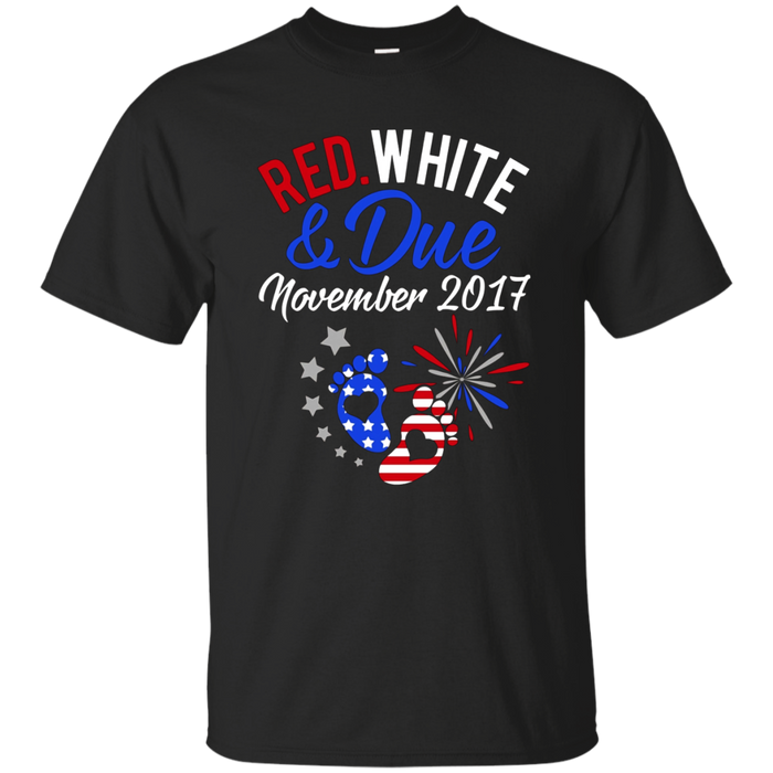 Red White And Due November 2017 T-Shirt