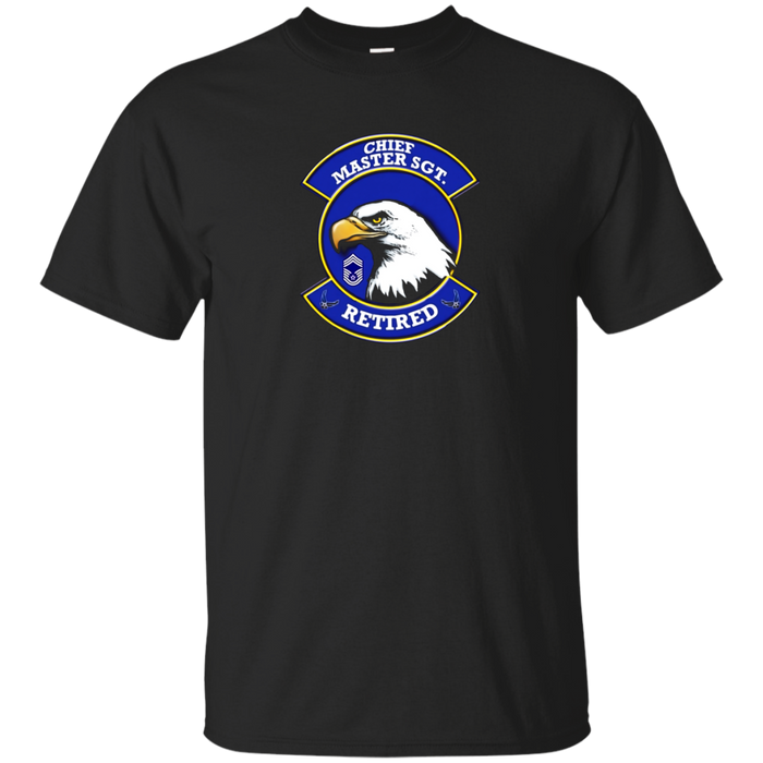 AIR FORCE CHIEF MASTER SERGEANT RETIRED EAGLE T-SHIRT