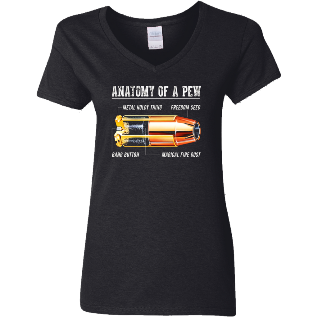 Anatomy Of A Pew T Shirt - Funny Gift T Shirt for Men Women