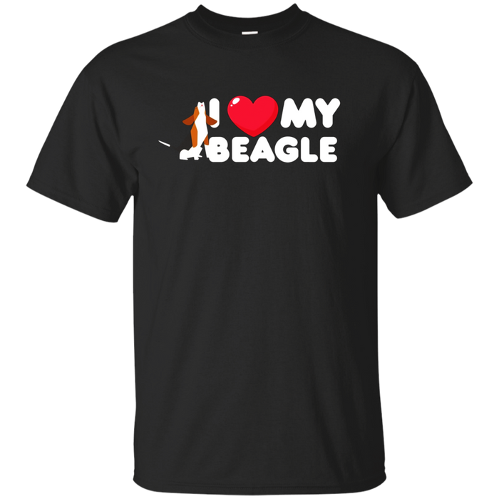I Love My Beagle, I Heart My Beagle, T SHIRT