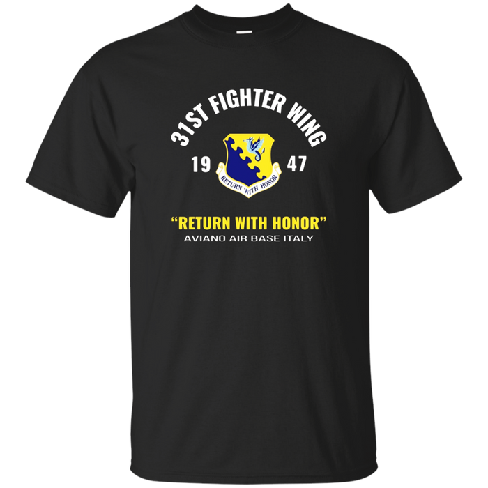 Air Force 31st Fighter Wing T Shirt