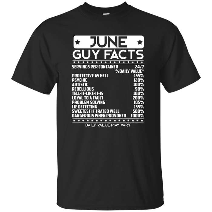 June Guy Facts T Shirt