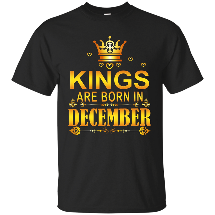 Kings Are Born In December Shirt