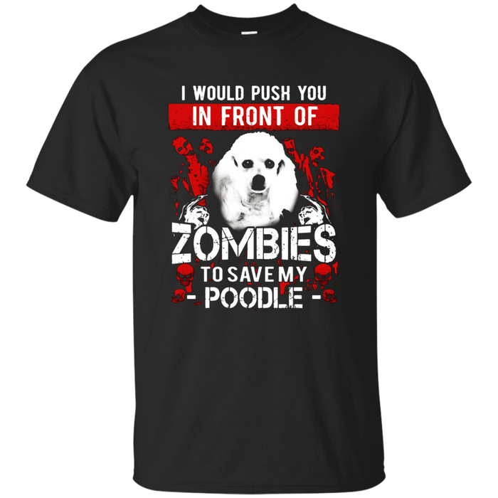 Zombies Poodle shirt