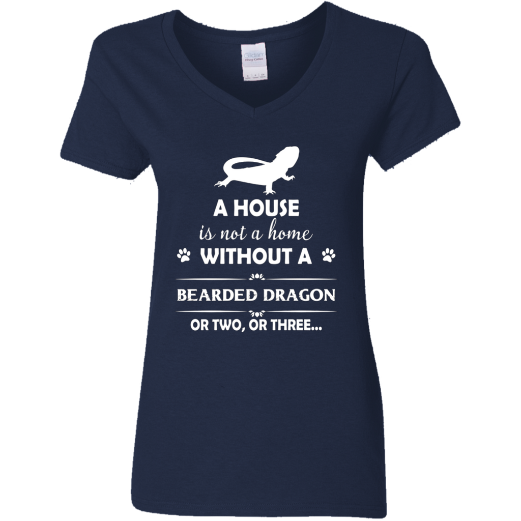 A House Is Not A Home Without A Bearded Dragon T shirt