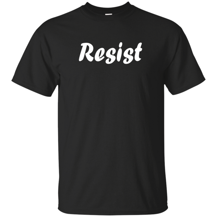 Resist Womans March T-Shirt Political Activist Tee Shirt