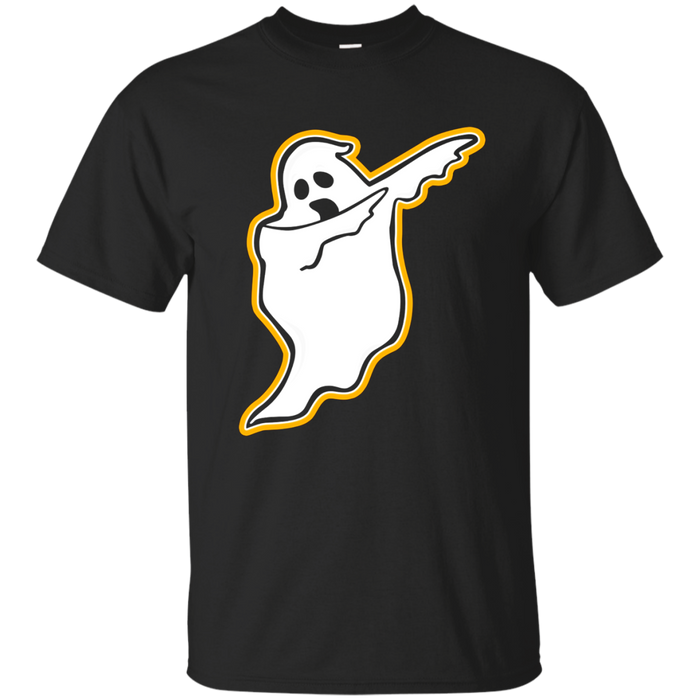 Funny DABBING GHOST Halloween T-shirt - Spooky Haunted Dab