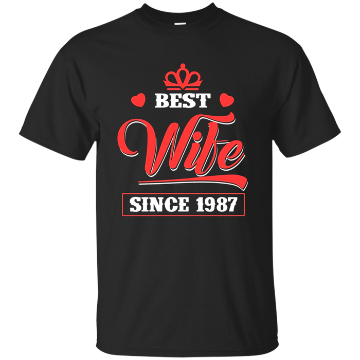 Beautiful T-Shirt For Wife. 30th Wedding Anniversary Gift .