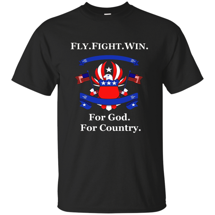 Academy US AIR FORCE SHIRT FLY FIGHT WIN Unisex T Shirt