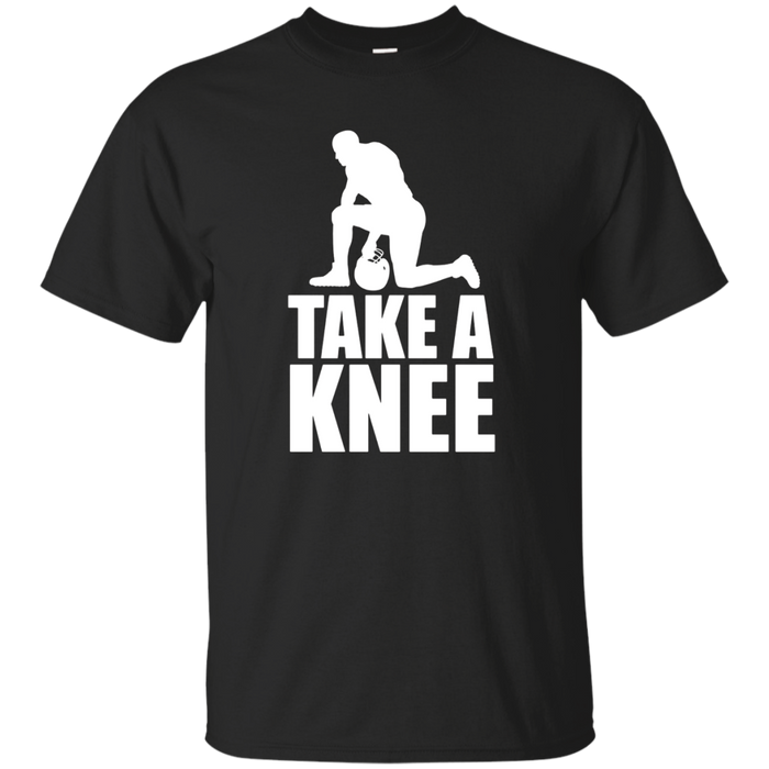 """TAKE A KNEE"" T-Shirt #TAKEAKNEE Football Peaceful Protest"