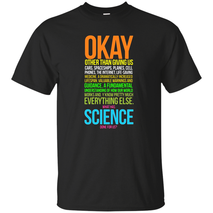 Science March TShirt Science Earth Day Scientists TS