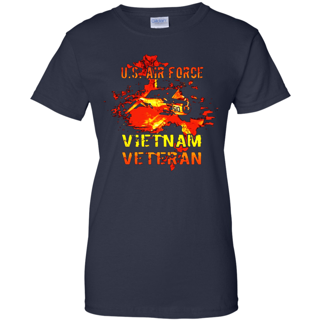 U.S. AIR FORCE - VIETNAM VETERAN T SHIRT