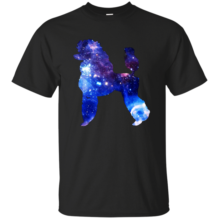 Funny Poodle shirt for Pudle lover t-shirt with Galaxy tees