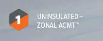 1 UNINSULATED ZONAL ACMT