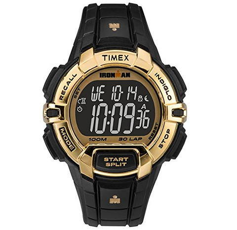 Cheap Rugged Watches From Timex   Black And Gold   $49.99