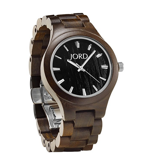 Unixex Wood Watch by Jord - Fieldcrest Series - Assorted Woods