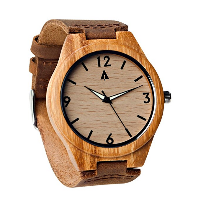 Minimal Wooden Watch for Men by TreeHut